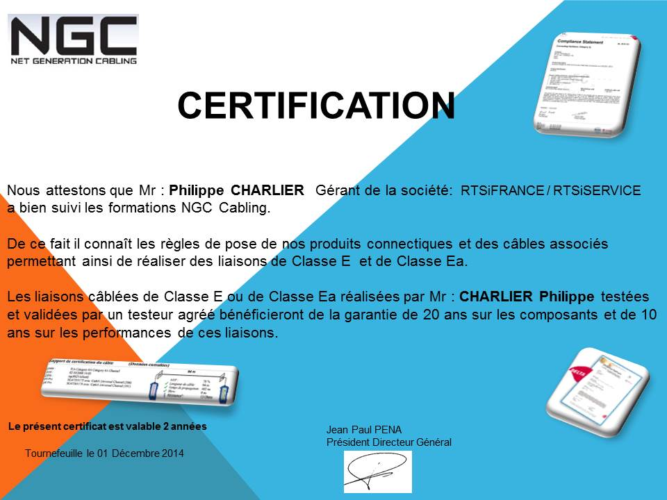Certification NGC Networks